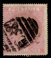 Grande-Bretagne YT N° 40 Oblitéré. B/TB. A Saisir! - 1840-1901 (Victoria)