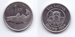 Iceland 1 Krona 1994 - Islande