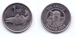 Iceland 1 Krona 1996 - Islandia