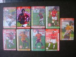 9 FOOTBALL TICKETS OF THE SPORT CLUB INTERNACIONAL / BRAZIL - Toegangskaarten