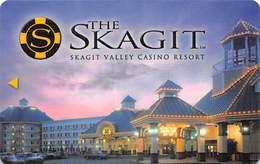 Skagit Valley Casino - Hotel Room Key Card - Hotel Keycards