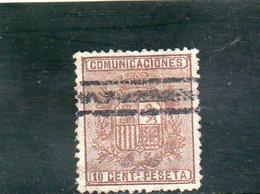 ESPAGNE 1874 - Oblitérés