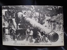 Postal Sin Circular. I Guerra Mundial. Front De La Somme - Guerra 1914-18