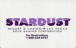 Stardust Casino Las Vegas, NV - Hotel Room Key Card - Hotel Keycards