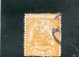 ESPAGNE 1874 O - 1873 1ère République