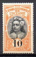 Col10    Océanie  N° 43 Neuf X MH  Cote : 4,00 Euro Cote 2015 - Unused Stamps