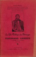 """La Vie Politique Du Berruyer Ferdinand Gambon """"L'homme à La Vache"""" (1802-1887) De Arsène Mellot (1951), Bourges - Histoire"""