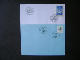 2 ENVELOPES (STAMPS) DA MAÇONARIA, MASONRY (BRAZIL) - Freemasonry