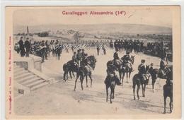Militari-Cavalleggeri Alessandria ( 14° )-Integra E Originale Al 100%an1 - Regimente
