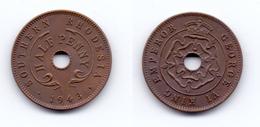 Southern Rhodesia 1/2 Penny 1943 - Rhodésie