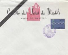 PORTUGAL - ENVELOPPE COMITE DES FETES DE MEADELA 1971 - VIANA DO CASTELO - FDC - FDC