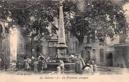 CPA La Valette - La Fontaine Longue - La Valette Du Var