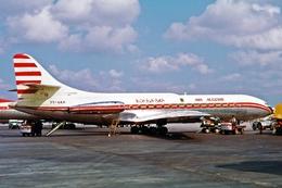 Aviation Postcard-834 AIR ALGERIE SE-210 Caravelle 7T-VAK - 1946-....: Modern Era