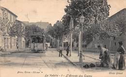 CPA La Valette - L' Arrivée Des Trams - La Valette Du Var
