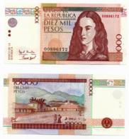 1995 // BANCO DE LA REPUBLICA // 10 000 PESOS // Commemorative // AU - Colombie