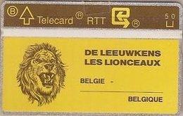 BELGIUM : P100 DE LEEUWKES LION  DUMMY CARD NO HOLE - [3] Errors & Variety