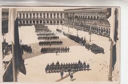 Venezia-Piazza S.Marco-Militari-Parata Militare-Foto Cartolina-Vg Il 27.6.927-Integra E Originale Al 100%an1 - Militares
