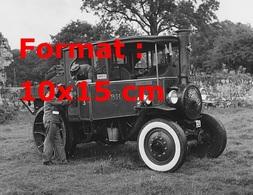 Reproduction D'une Photographie Ancienne D'un Foden D Type Steam Truck De 1932 - Reproductions