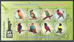 Bangladesh - 2016 Stamp Show Block MNH__(FIL-10656) - Bangladesh