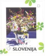 Slovenia Slovenie Slowenien 2014 Personalized Stamp: Spring: Bouquet Of Flowers - Slowenien