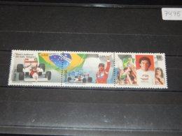 Brazil - 1994 Ayrton Sennas Strip MNH__(TH-7475) - Brazil