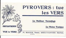 Buvard Pharmaceutique - Pyrovers - Produits Pharmaceutiques