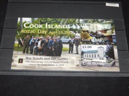 Cook Islands - 2010 Australian-New Zealand Veterans Association Block MNH__(TH-10260) - Cook Islands