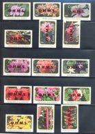 Cook Islands - 2010 Plants Red OHMS Overprints MNH__(TH-9468) - Cook Islands