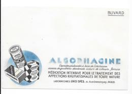 Buvard Pharmaceutique - Algophagine - Produits Pharmaceutiques