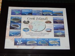Cook Islands - 2010 The Cook Islands Kleinbogen MNH__(THB-727) - Cookinseln