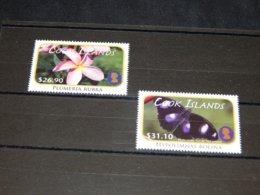 Cook Islands - 2011 Plants And Butterflies MNH__(TH-18038) - Cook Islands