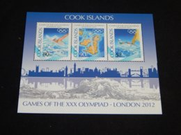Cook Islands - 2012 London Block MNH__(TH-5218) - Cook Islands