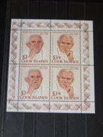 Cook Islands - 2012 Pope John Paul II Kleinbogen MNH__(TH-9350) - Cook Islands