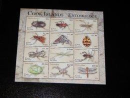 Cook Islands - 2013 Arthropods Sheet MNH__(THB-765) - Cook Islands