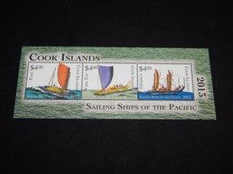 Cook Islands - 2013 Sailing Ships Block MNH__(TH-9274) - Cook Islands