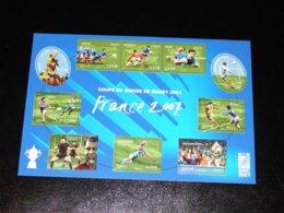 France - 2007 Rugby World Cup Kleinbogen MNH__(THB-2743) - Souvenir Blocks & Sheetlets