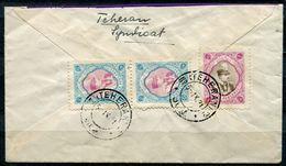 "Iran 1931 Bedarfsbrief/Cover Mit Mi.Nr.616 U.621""Brustbild Des Schahs""Teheran-Germany""1 Beleg - Iran"