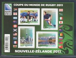 France - 2011 Rugby World Cup Block MNH__(FIL-10364) - Souvenir Blocks