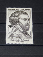 Gabon - 1982 Alfred De Musset MNH__(TH-13610) - Gabun (1960-...)