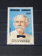 Gabon - 1985 Albert Schweitzer MNH__(TH-3268) - Gabun (1960-...)