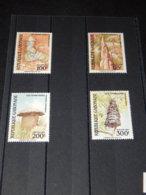 Gabon - 1991 Termite Buildings MNH__(TH-14064) - Gabon (1960-...)