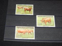 Gabon - 1992 Cattle Breeding MNH__(TH-3483) - Gabun (1960-...)