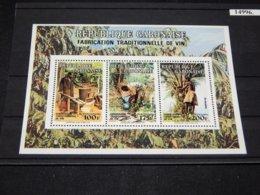 Gabon - 1993 Traditional Wine Making Block MNH__(TH-14996) - Gabon
