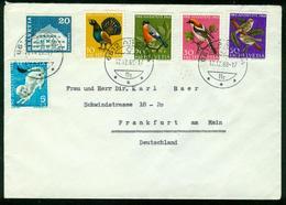 BR Schweiz   1968 Brief Von Ascona Nach BRD, Frankfurt ( Pro Juventute) - Svizzera
