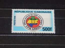 Gabon - 1996 Combating Illicit Drugs MNH__(TH-8200) - Gabon (1960-...)