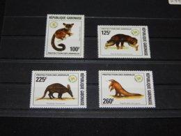 Gabon - 1996 Rare Animals MNH__(TH-5441) - Gabón (1960-...)
