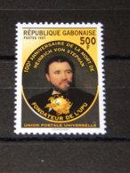 Gabon - 1997 Heinrich Von Stephan MNH__(TH-14583) - Gabon (1960-...)