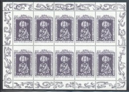 Germany (Federal Republic) - 1997 St. Adalbert Kleinbogen MNH__(FIL-10418) - [7] République Fédérale