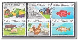Trinidad & Tobago 1981, Postfris MNH, Animals, Food, Fish - Trinidad En Tobago (1962-...)