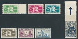 FRANCE 1943 - Y.T. FRANCE LIBRE - Série Complète N°1 à 7 - Neuf** - TTB Etat - Autres